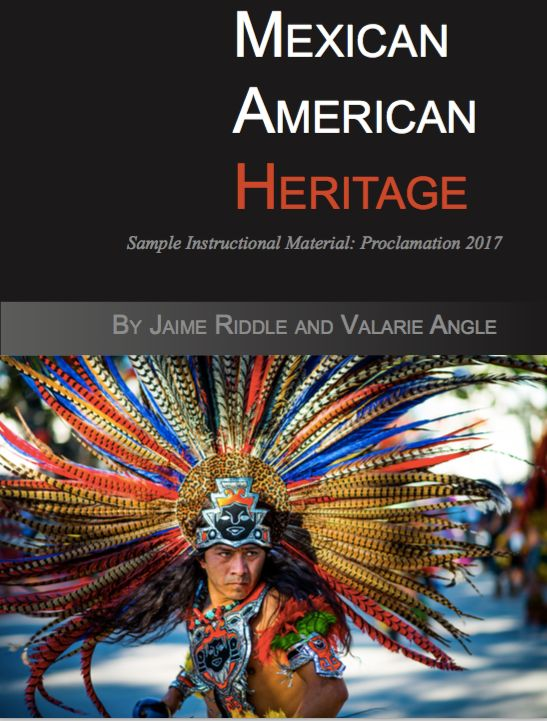 The cover of a widely reviled textbook on Mexican-American studies proposed to the Texas Education Agency for use in public s
