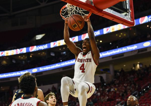 Smith's smooth handle and creativity is sensational. He was a great get for NC State head coach Mark Gottfried. Not only did&