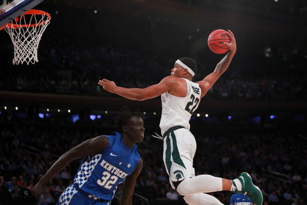 Bridges is the most explosive dunker Tom Izzo has had since Jason Richardson, and he might be the most exciting prospect as w