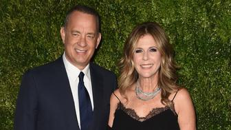 NEW YORK, NY - NOVEMBER 15:  Tom Hanks and Rita Wilson attend the MoMA Film Benefit presented by CHANEL, A Tribute To Tom Hanks at MOMA on November 15, 2016 in New York City.  (Photo by Nicholas Hunt/WireImage)