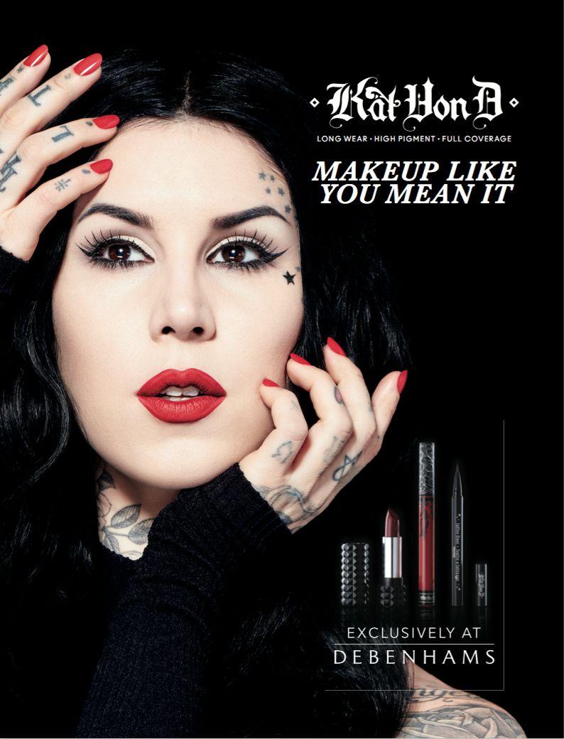 Kat Von D Launches Vegan Cruelty-Free Makeup Brushes Crème Contour Palette photo