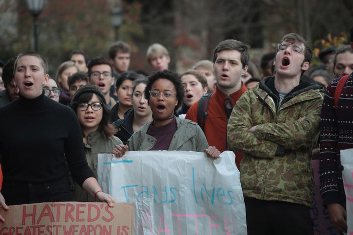 Many colleges and universities across the country have offered resources to help students deal with election-related grief.