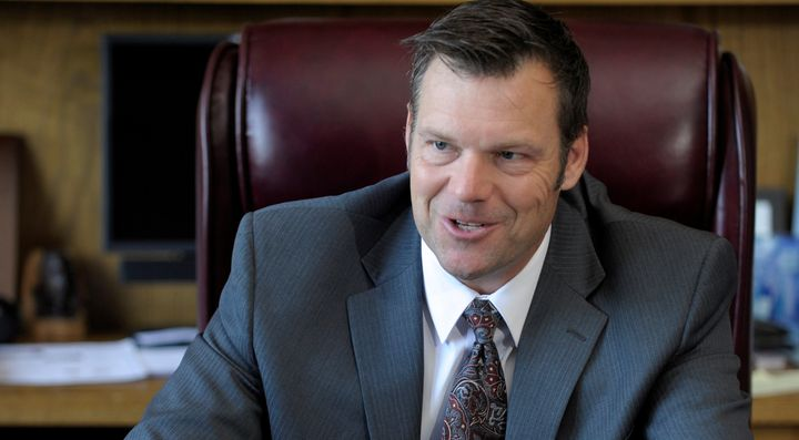 While serving in the George W. Bush administration, Kris Kobach designed a registry for immigrants from predominantly Muslim