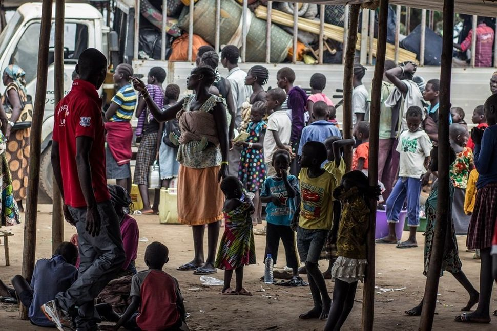 """""""I don't know whether my parents are alive or dead. It's sad to see the youth of South Sudan abandoning their dre"""