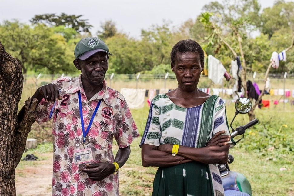 """""""This is the third time I am fleeing into Uganda. My wife is in trauma. We worked hard all our life. We had a house. We lost"""