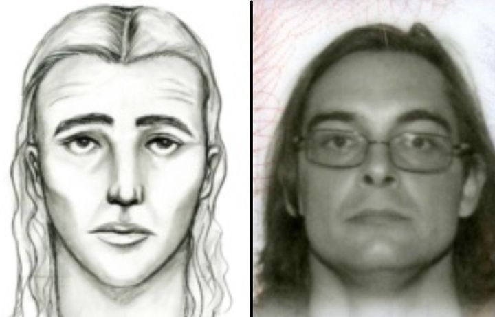 James Ritchie looks eerily similar to the suspect sketch. He stood 6 feet four inches tall and was wearing a camouflage jacke