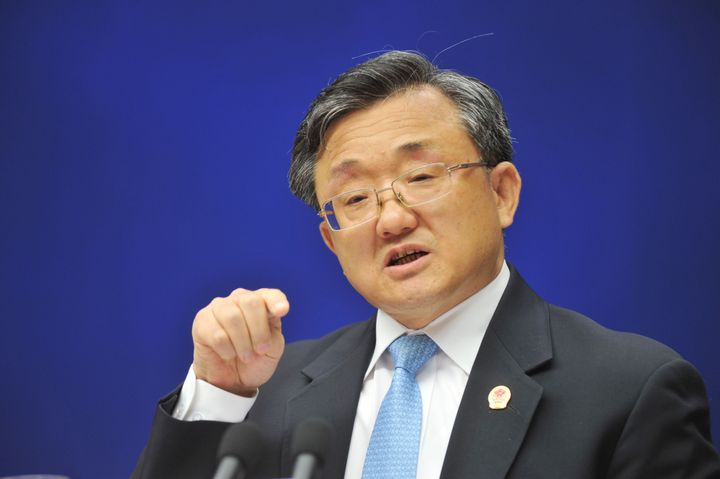 Chinese Vice Foreign Minister Liu Zhenmin
