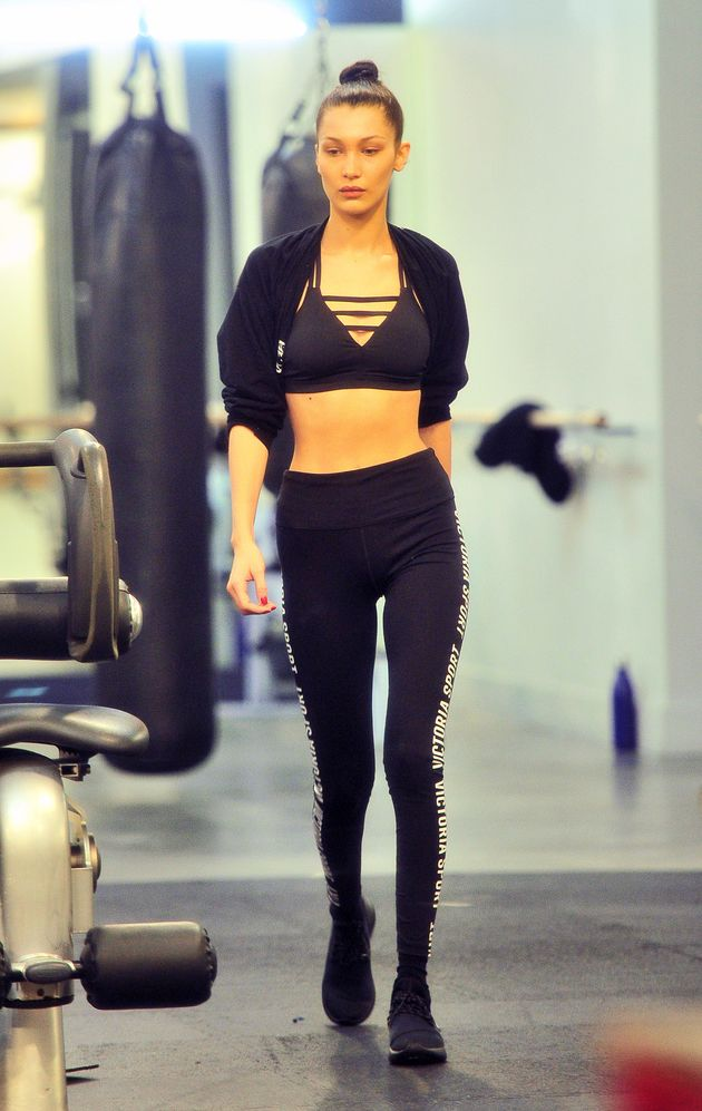 Bella Hadid Body-Shamed For Being  Too Thin  To Model For Nike ... 361b85ba4d