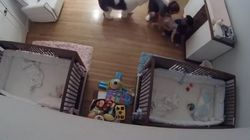 9-Year-Old's Brotherly Instinct Saves Baby Falling Off Changing