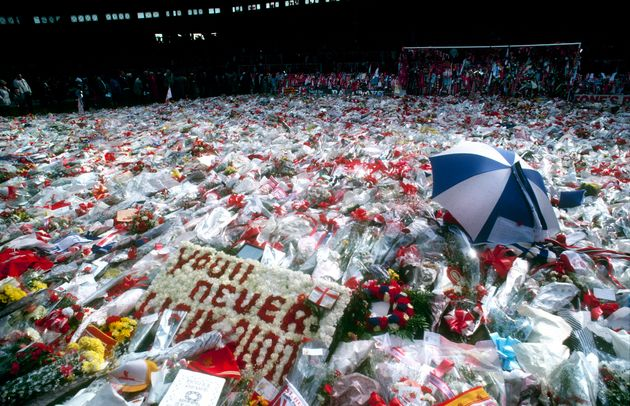 Hundreds of thousands of tributes are laid in memory of the 96 people who died at Hillsborough in