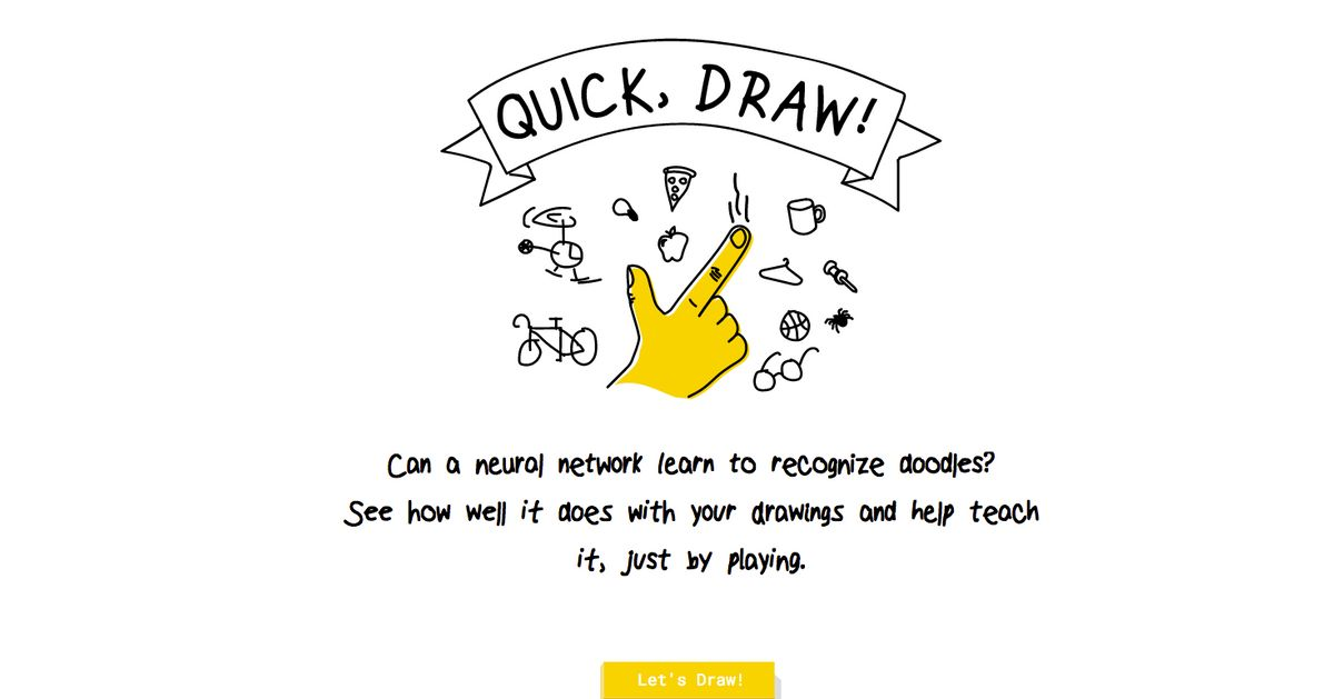 How Good Is Your Drawing Try And Beat Google S Ai In A Game