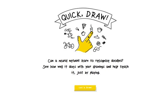 How Good Is Your Drawing? Try And Beat Google's AI In A Game Of Google Quick