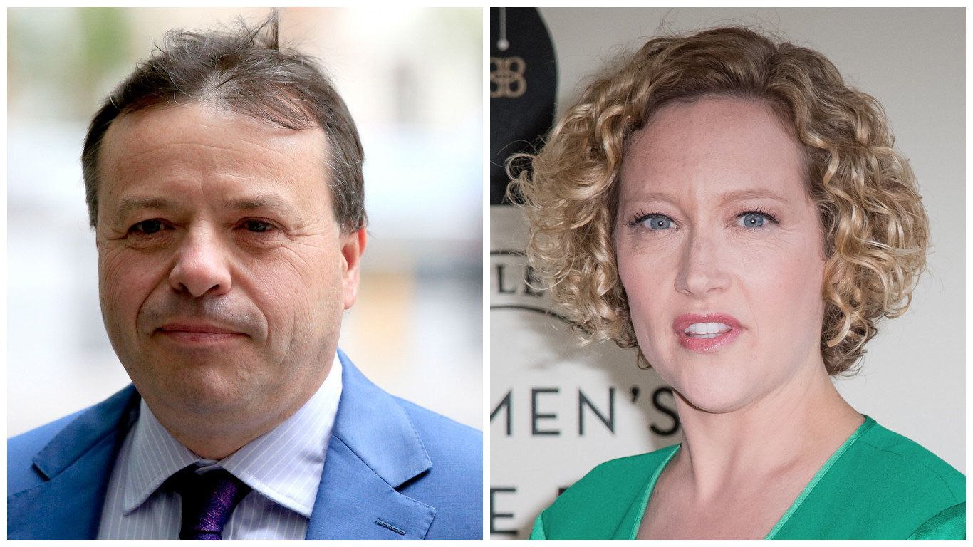 Cathy Newman Skewers Ukip Donor For Excusing Donald Trump's Assault On Women