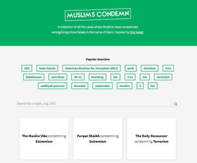 muslimscondemn.com