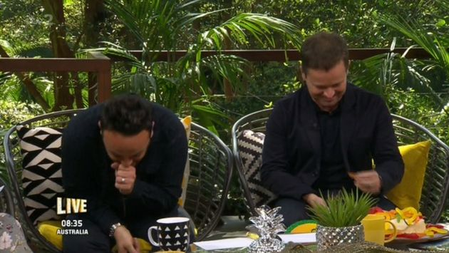 Ant and Dec could not stop