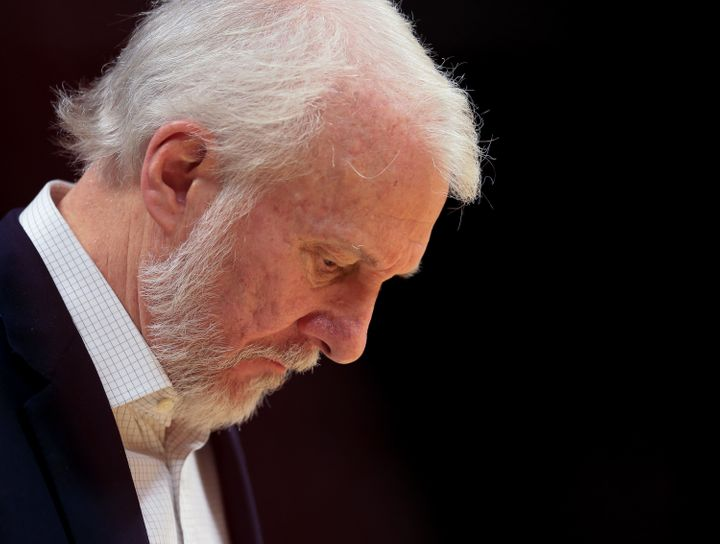 Gregg Popovich has quickly become one ofthe sports world's harshestTrump critics.