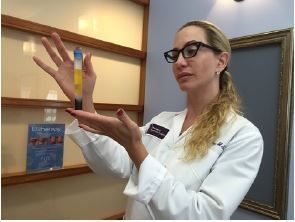 Donna Fay, the Beauty Expert, showcases  Platelet Rich Plasma