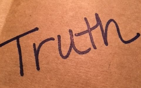 Lately Ive Been Struggling With What Truth Really Means A Word Were All So Seemingly Certain Of Using It As The Mantra Our Lives Words