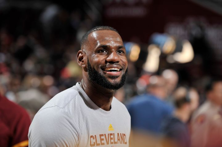 The Cleveland Cavaliers forward said he was a longtime fan of Ali.