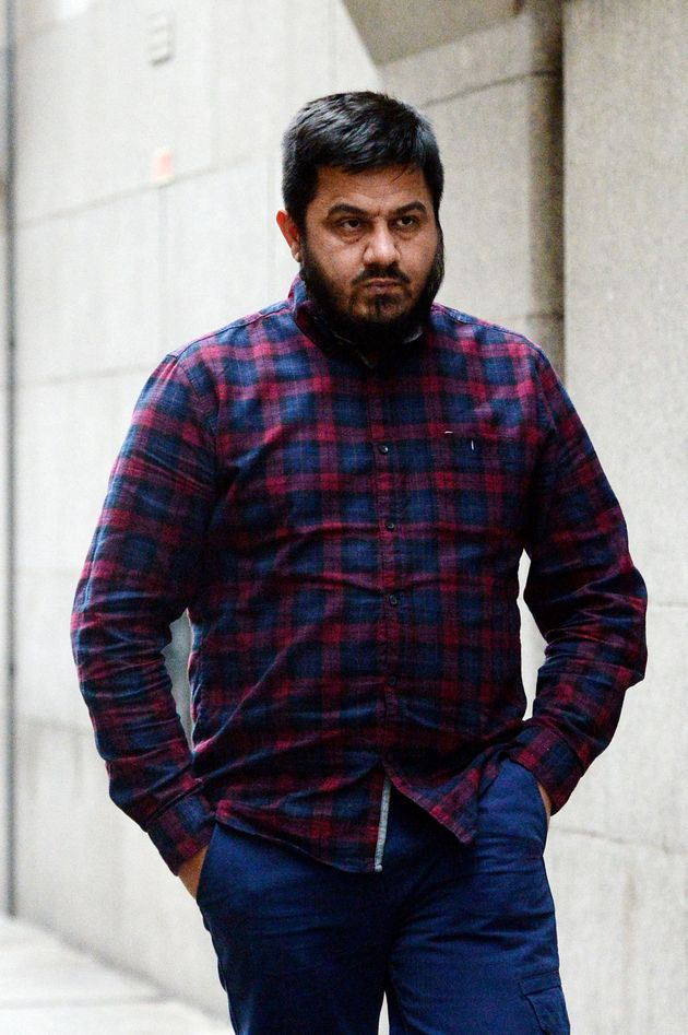 Witness taxi driver Rashid Hussain leaves the Jo Cox MP murder trial after giving evidence at the Old...