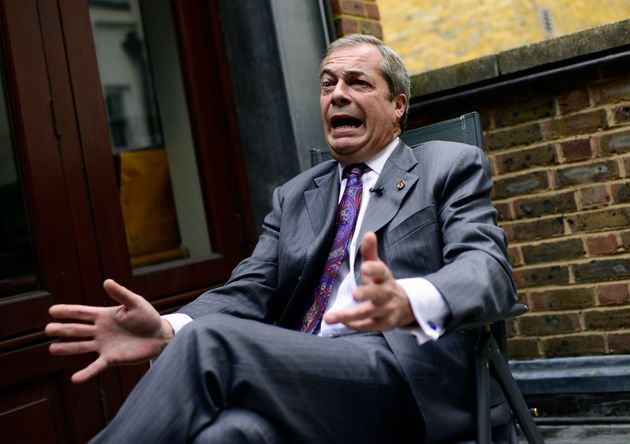 Nigel Farage Says He's Been 'Victimised' As Leaked Report Suggests Ukip Misspent EU