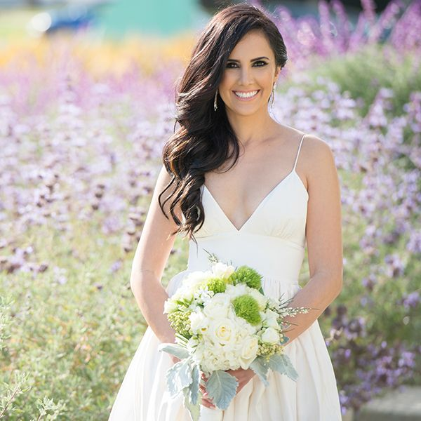 25 wedding hairstyles for brides with long hair huffpost photo credit the big affair junglespirit Images