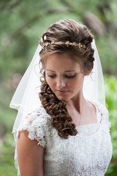 <p>Love wearing your hair up but a traditional chignon is just too formal for you? Dress up a basic ponytail with intricate curls and twists.</p>
