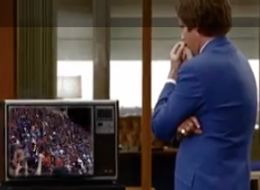 So, Ron Burgundy And 'Anchorman' Pals Watched Cubs Win World Series