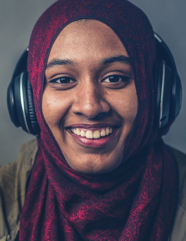 "Syeda, 21, Math & Physics major at Hunter College: ""I'd love to teach. It'™s been my dream for the past couple of years t"