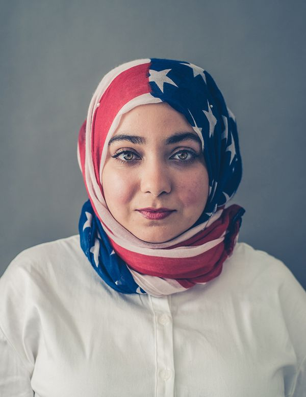 """Hanan, 24, NYU Dental student: """"€œI have a pretty positive personality -- my nickname is Happy Panda. I try not to think too"""