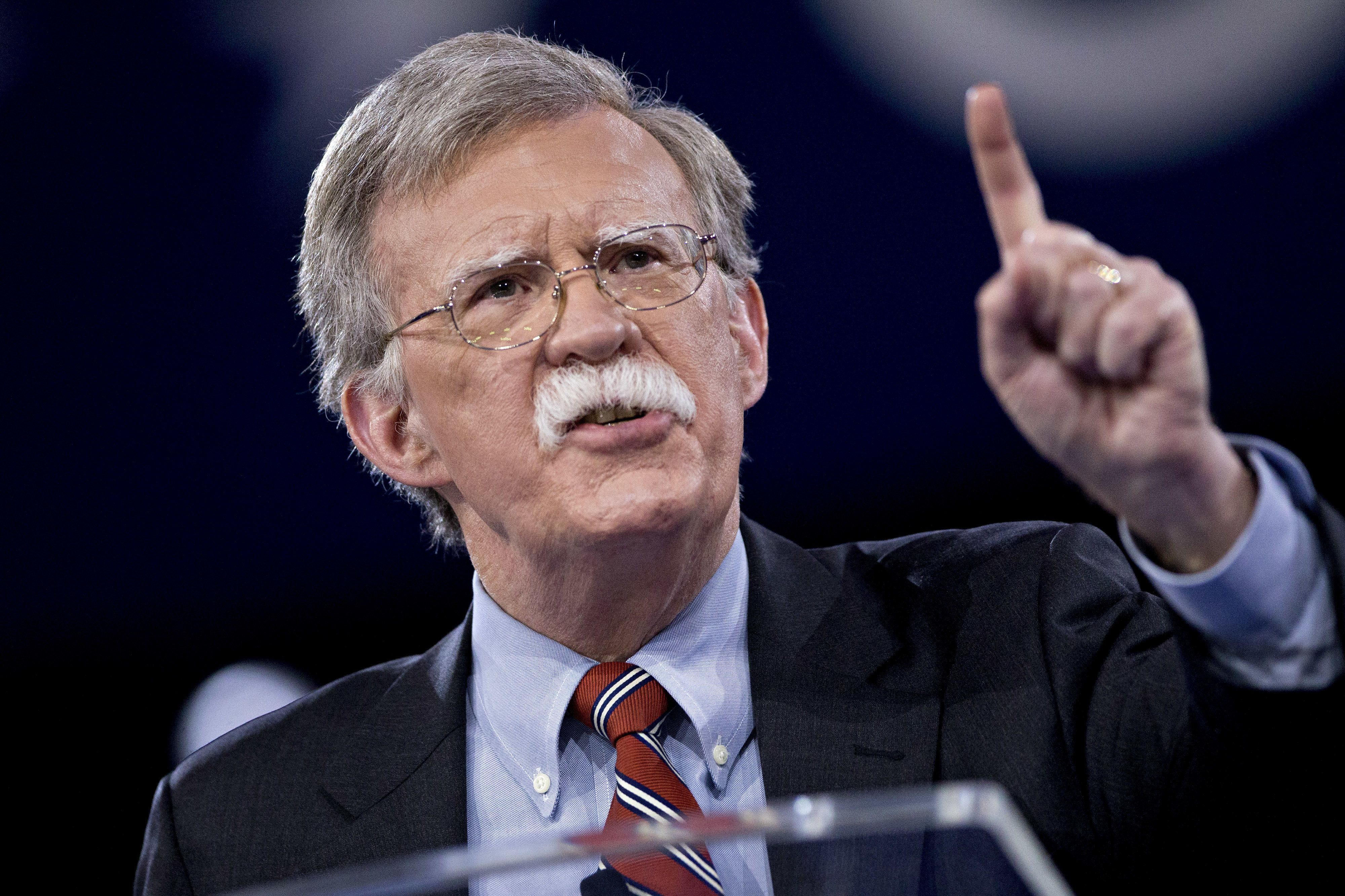 John Bolton, the former U.S. ambassador to the United Nations, has again called for regime change in Iran.