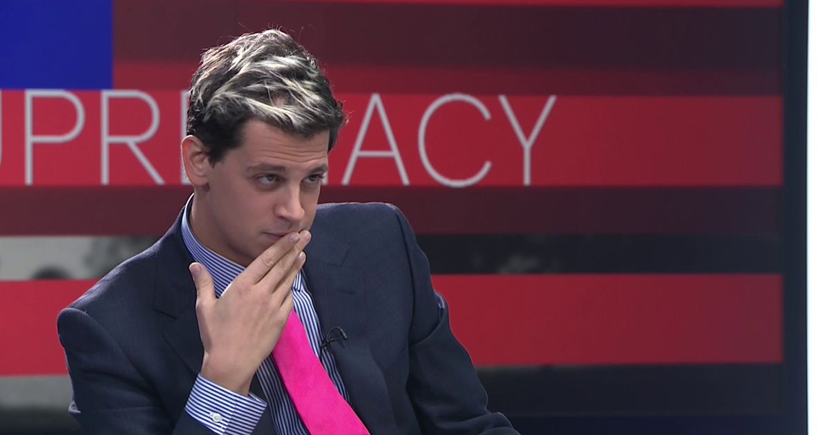 Milo Yiannopoulos of Breitbart News Clashes With Channel 4's