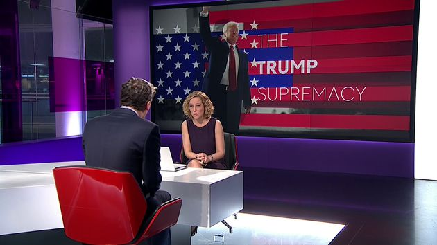 Milo Yiannopoulos of Breitbart News Clashes With Channel 4's Cathy Newman In Shouty