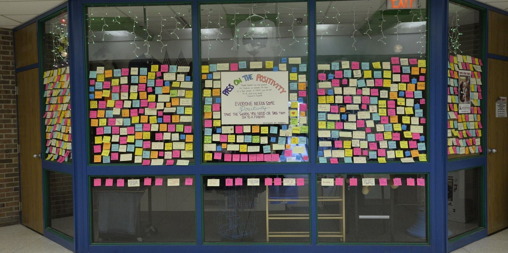Michigan Students Create 'Pass On The Positivity' Project To Spread Love
