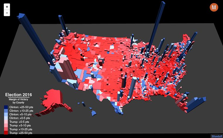 Election Maps Can Be Deceiving, and Informative | HuffPost