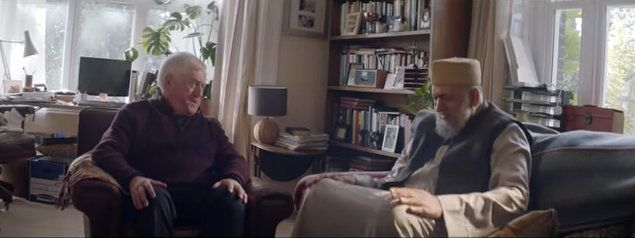 The priest and imam featured in Amazon's 2016 Christmas ad are religious leaders in real life.
