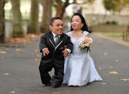 World's Shortest Couple Gets The Rings, Then The Record