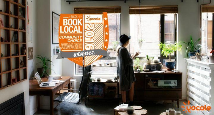 <p>BookLocal Community Choice Awards</p>