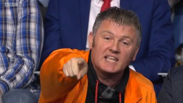 The man from Stirling claimed 'democracy has been lowered to mob