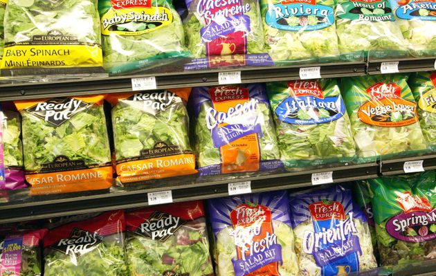 Your bagged salad is a Salmonella risk