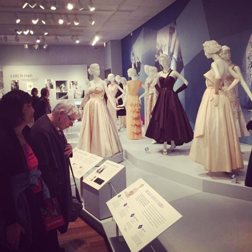 """""""Making Mainbocher: The First American Couturier,"""" on display at the Chicago History Museum through August, 2017"""