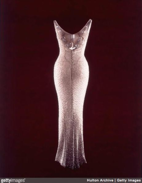 The dress that Marilyn Monroe wore when she sang