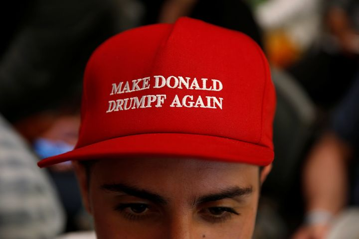 The company behind these hats has filed for bankruptcy protection.
