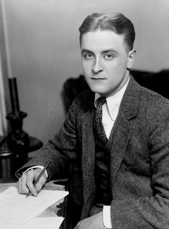 <em>F. Scott Fitzgerald, 1921</em>