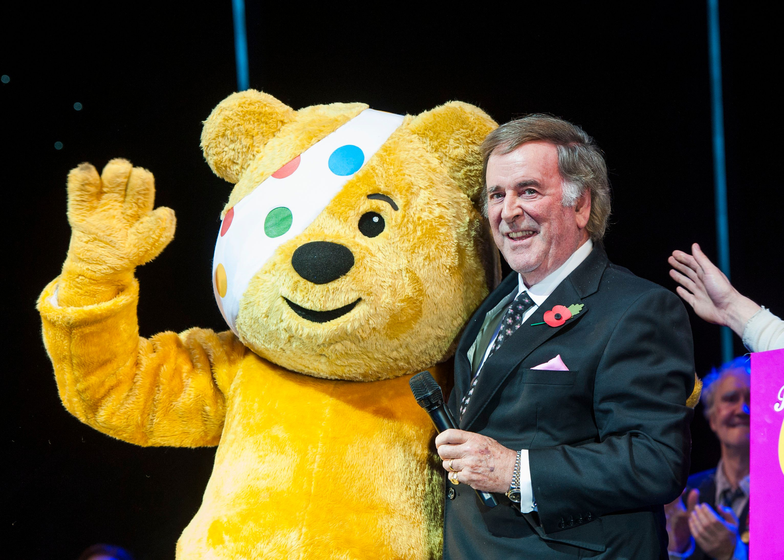Sir Terry Wogan was the face of Children In Need for 35