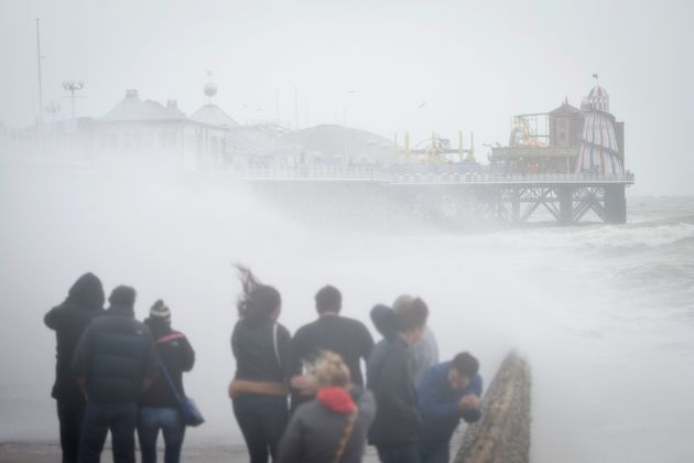 UK Weather Forecast: Met Office Issues Amber Alert For Storm Angus With 80mph Wind