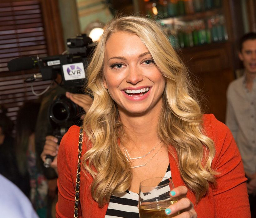 Founder, Amanda Bradford, at The League Launch Party.