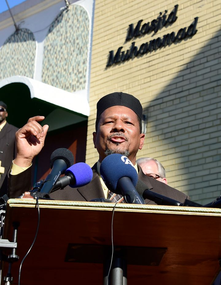 Imam Talib Shareef is president of Masjid Muhammad, also known as the Nation's Mosque.