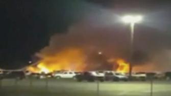 Nevada ambulance plane crash
