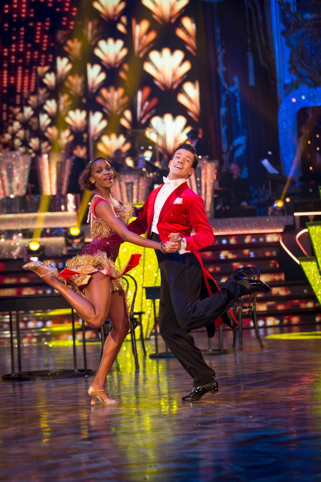Danny Mac and Oti Mabuse were awarded 40 points for their